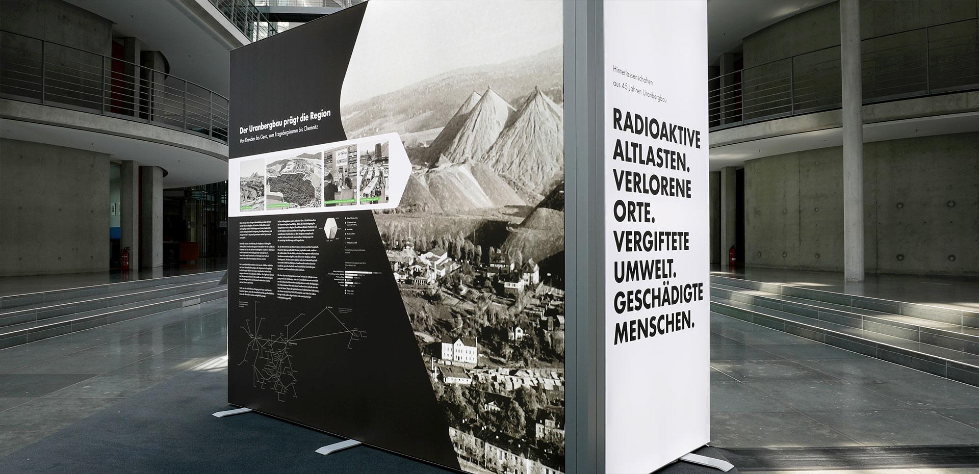 Der Uranbergbau prägt die Region