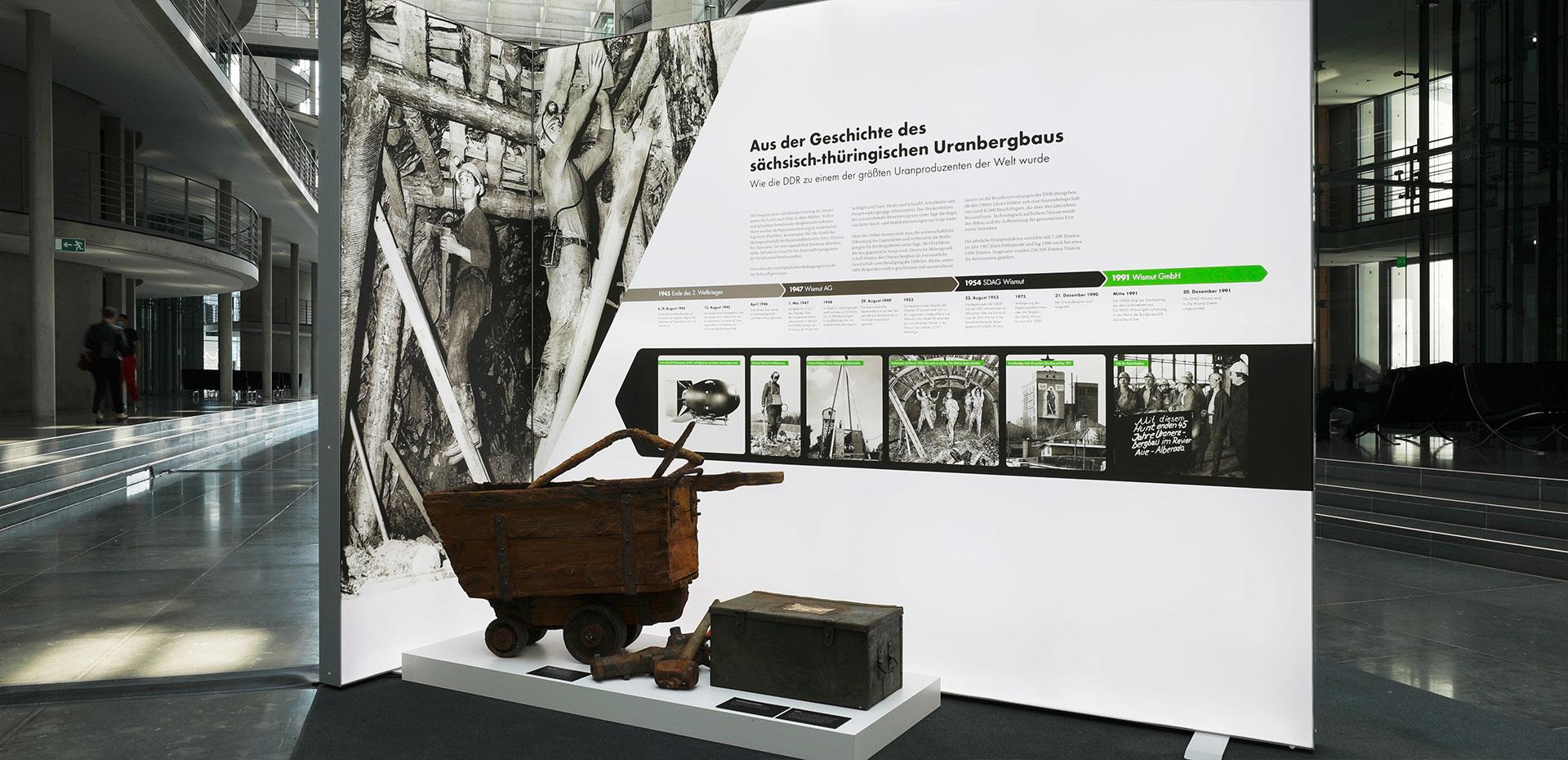 Aus der Geschichte des sächsisch-thüringischen Uranbergbaus